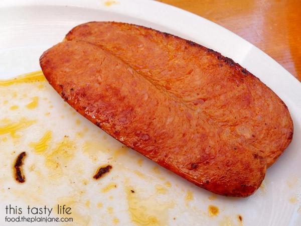 Louisiana Sausage at Fig Tree Cafe   Pacific Beach - San Diego, CA