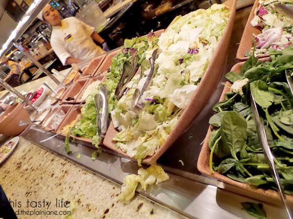 Salad Station | The Buffet at Harrah's Rincon Casino