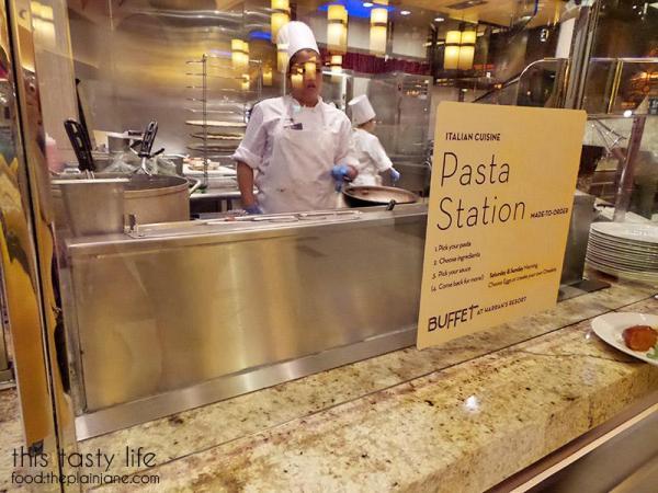 Italian | The Buffet at Harrah's Rincon Casino