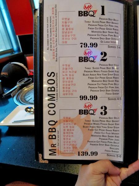 Combos Menu | Mr BBQ in Fullerton, CA