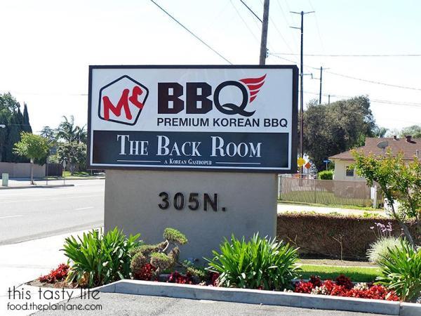 Korean BBQ at Mr BBQ in Fullerton, CA