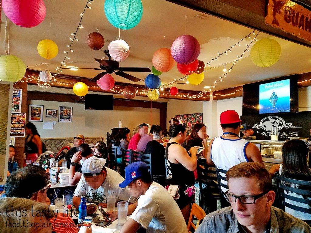 Interior | Matua's Sushi Bar and Islander Grill - Chula Vista, CA