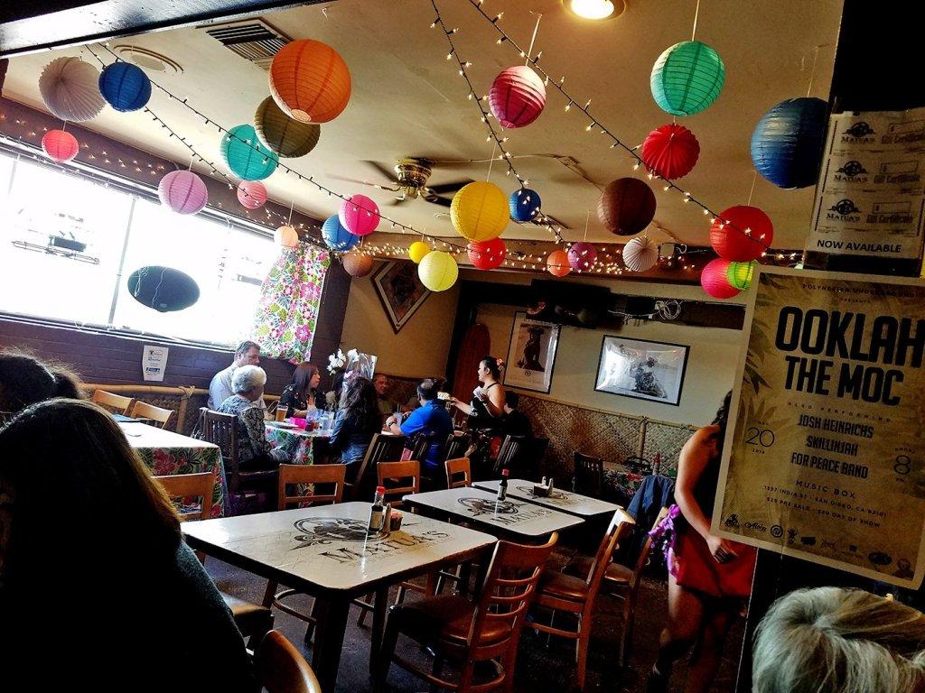 Interior   Matua's Sushi Bar and Islander Grill - Chula Vista, CA
