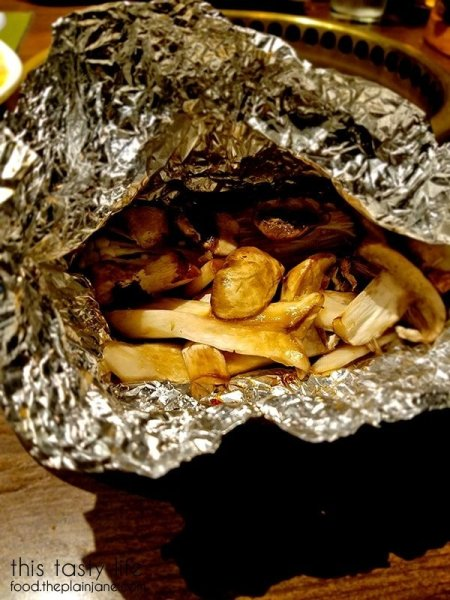 Packet of Mushrooms | Gyu-Kaku Japanese BBQ - Scripps Ranch / San Diego, CA
