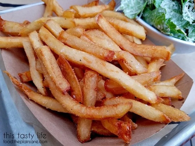 Schmaltz Fries at The Crack Shack | Little Italy - San Diego, CA