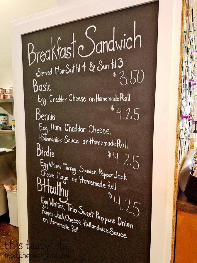 Breakfast Sandwich Menu at Bear Buns Bakery | Serra Mesa, San Diego, CA