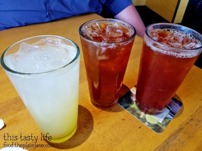 Summery beverages at California Pizza Kitchen