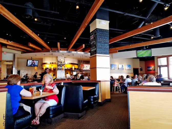 Interior at Fashion Valley - California Pizza Kitchen
