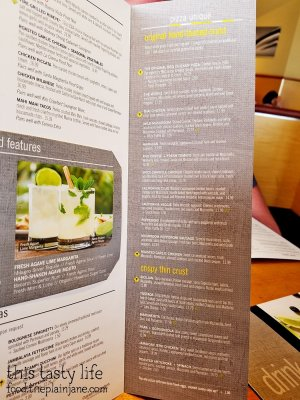 Menu - California Pizza Kitchen