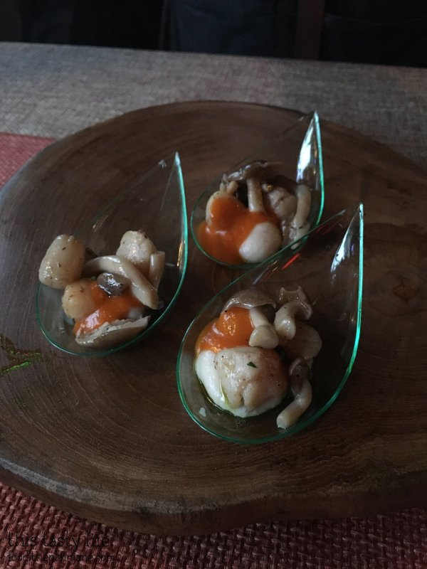 Oyster Shooter at Rustic Root | Taste of Downtown