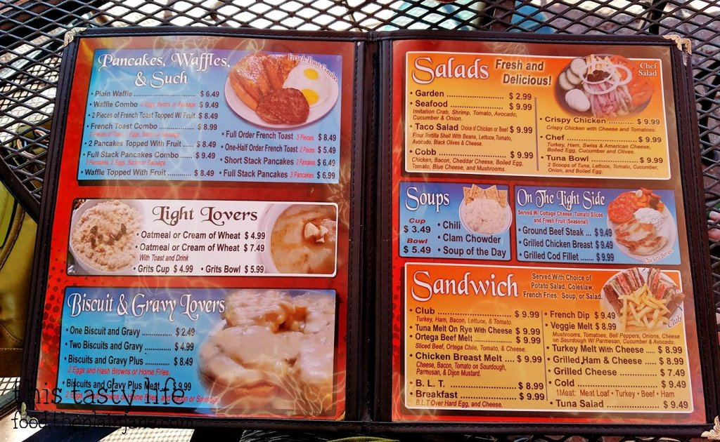 Menu at Shirley's Kitchen | La Mesa