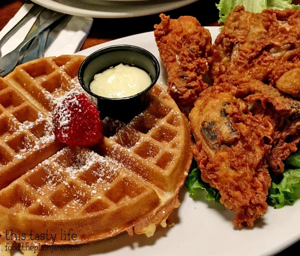 Chicken and Waffles at Brian's 24 | San Diego, CA