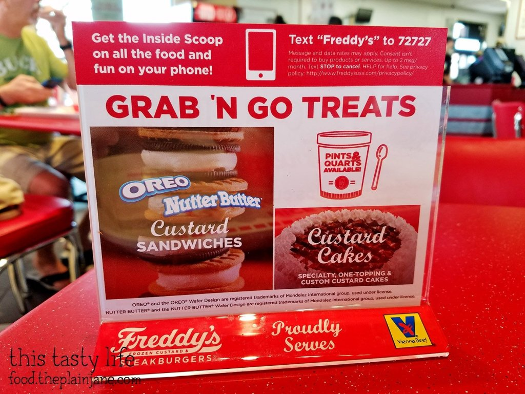 Desserts at Freddy's Frozen Custard & Steakburgers | National City - San Diego, CA