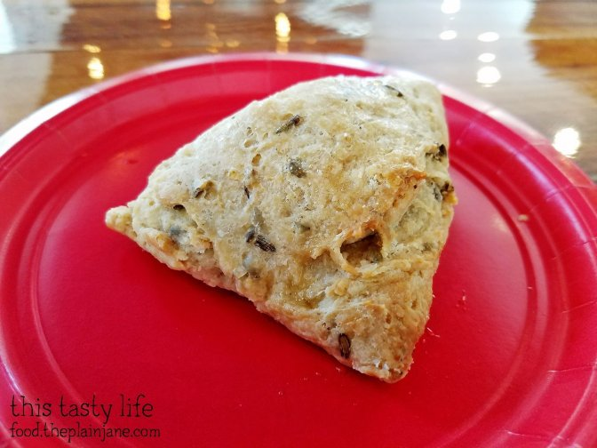 Lemon Lavender Scone - The King's Craft Coffee Co / Poway, CA