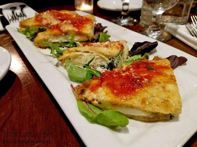 Pan Fried Mozzarella Sandwiches at Pummaro | San Diego, CA