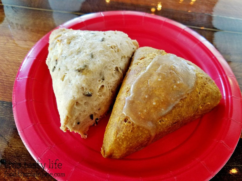 Scones - The King's Craft Coffee Co / Poway, CA