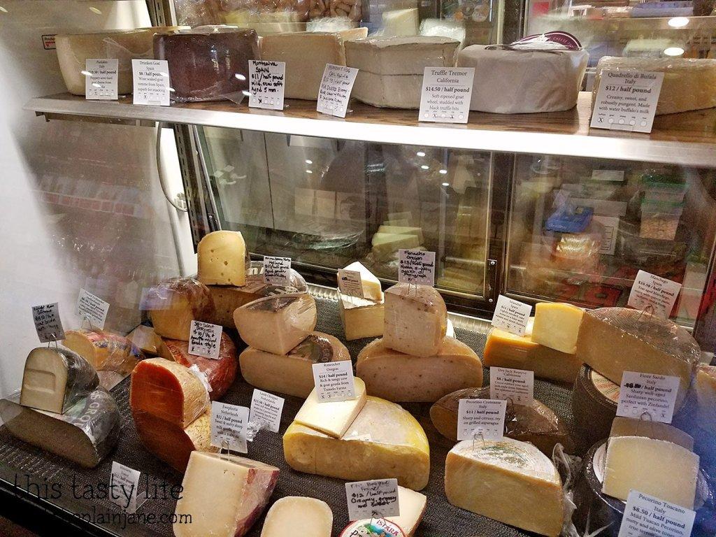 Cheeses at Brothers Provisions | Rancho Bernardo, CA