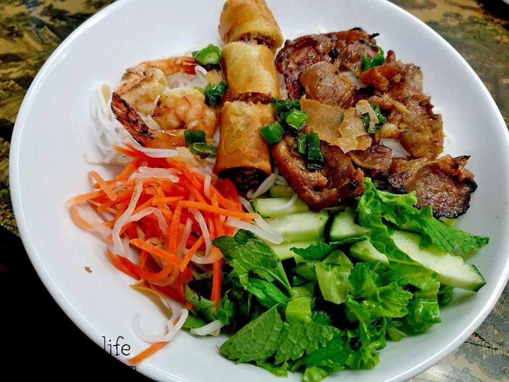 Pork Shrimp and Egg Roll Bun | Pho Nam Cali - National City, CA