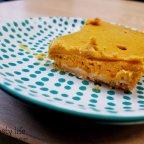 Pumpkin Cheesecake Bars for Miss Jones Bake it Better Challenge
