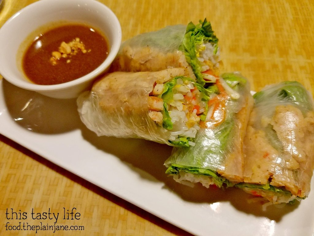 Grilled Sugarcane Shrimp Spring Rolls at Saigon Star | San Diego, CA