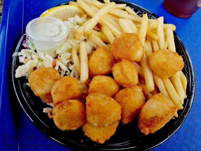 Fried Scallops Plate at Point Loma Seafoods - San Diego, CA - This Tasty Life