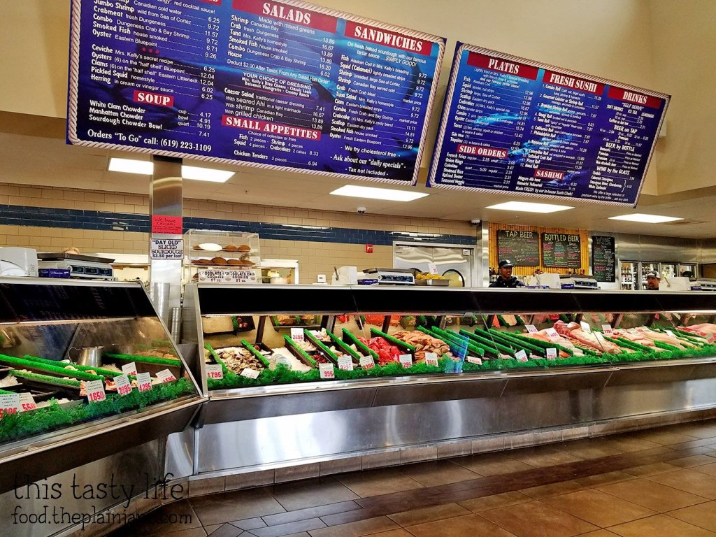 Seafood Counter at Point Loma Seafoods - San Diego, CA - This Tasty Life