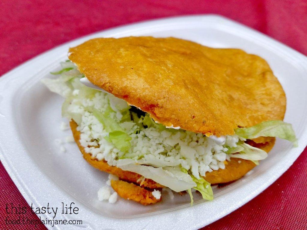 Stuffed Gordita at Tamales Ancira - Chula Vista, CA - This Tasty Life
