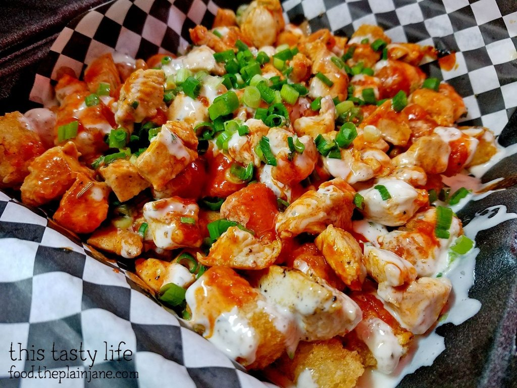 Buffalo Style Tater Tots at Grubz Takeout Restaurant   San Diego, CA