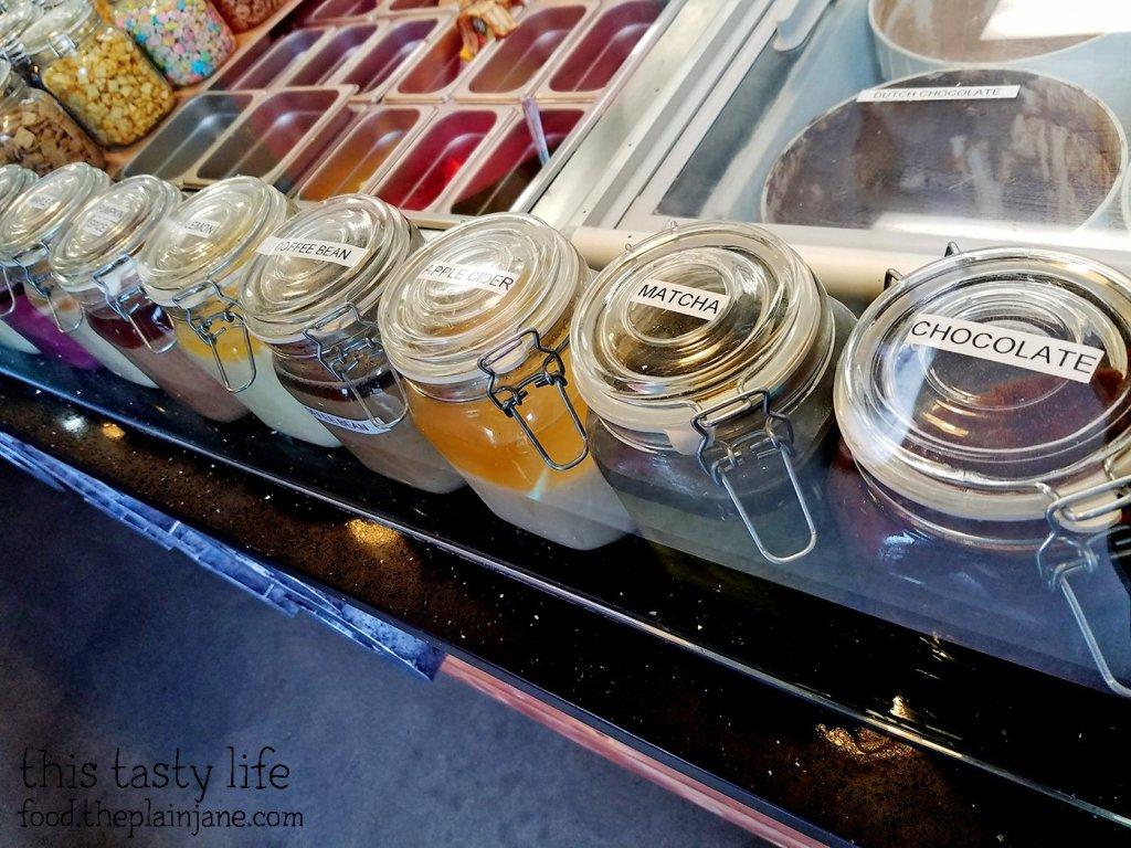 Doughnut Glazes at Halfsies Doughnuts | Tustin, CA | This Tasty Life