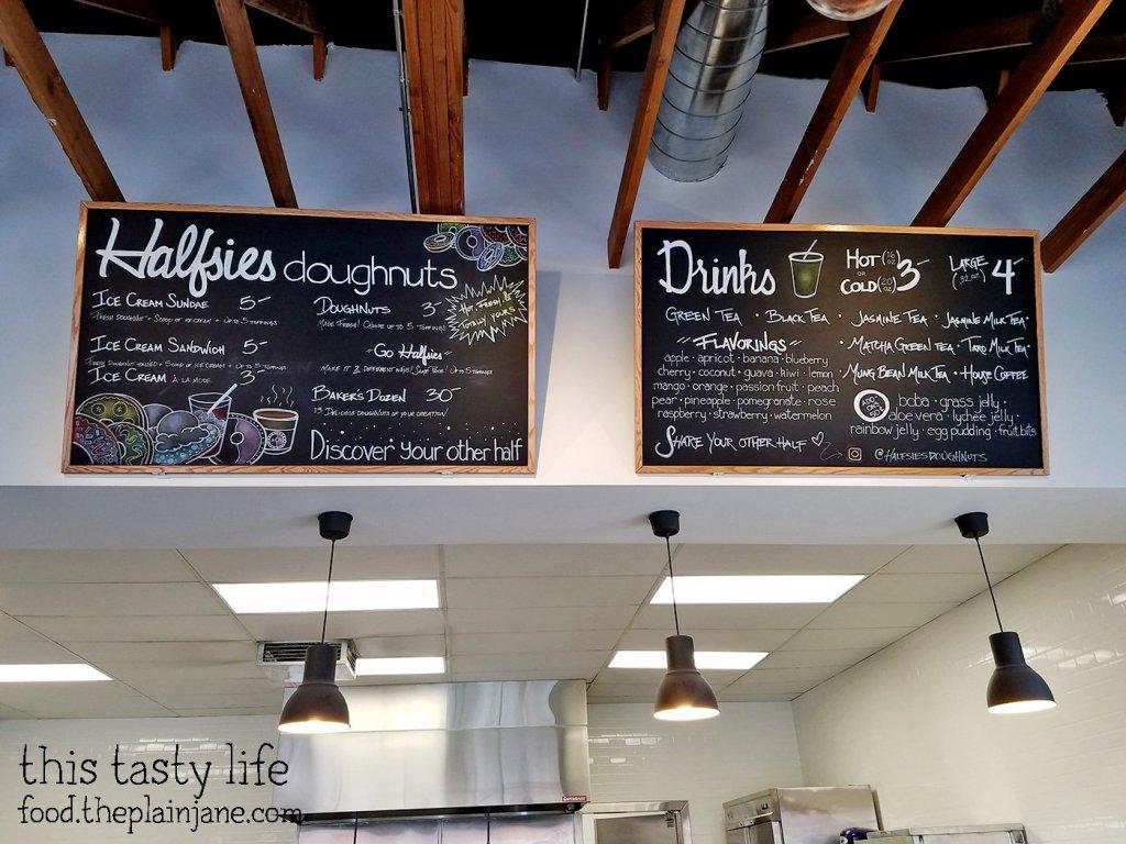 Menu at Halfsies Doughnuts | Tustin, CA | This Tasty Life