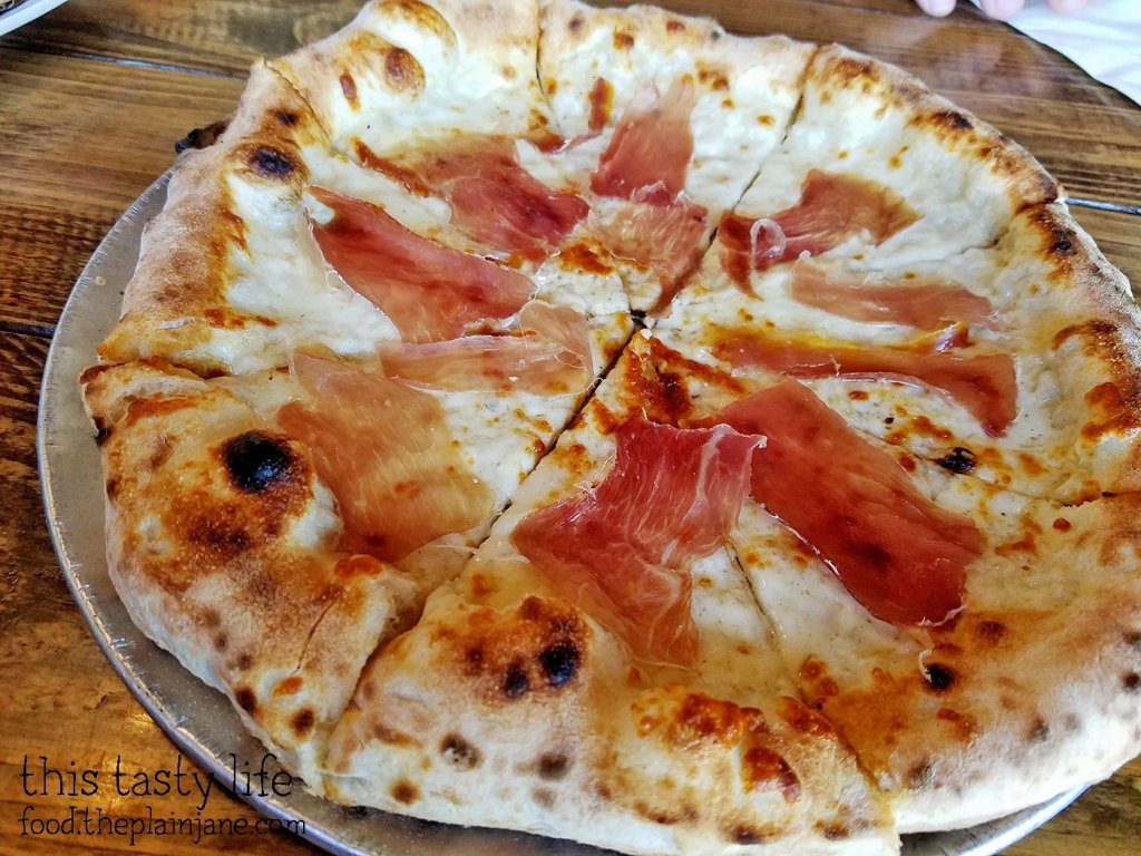 RAEN Pie at Privateer Coal Fired Pizza | Oceanside, CA