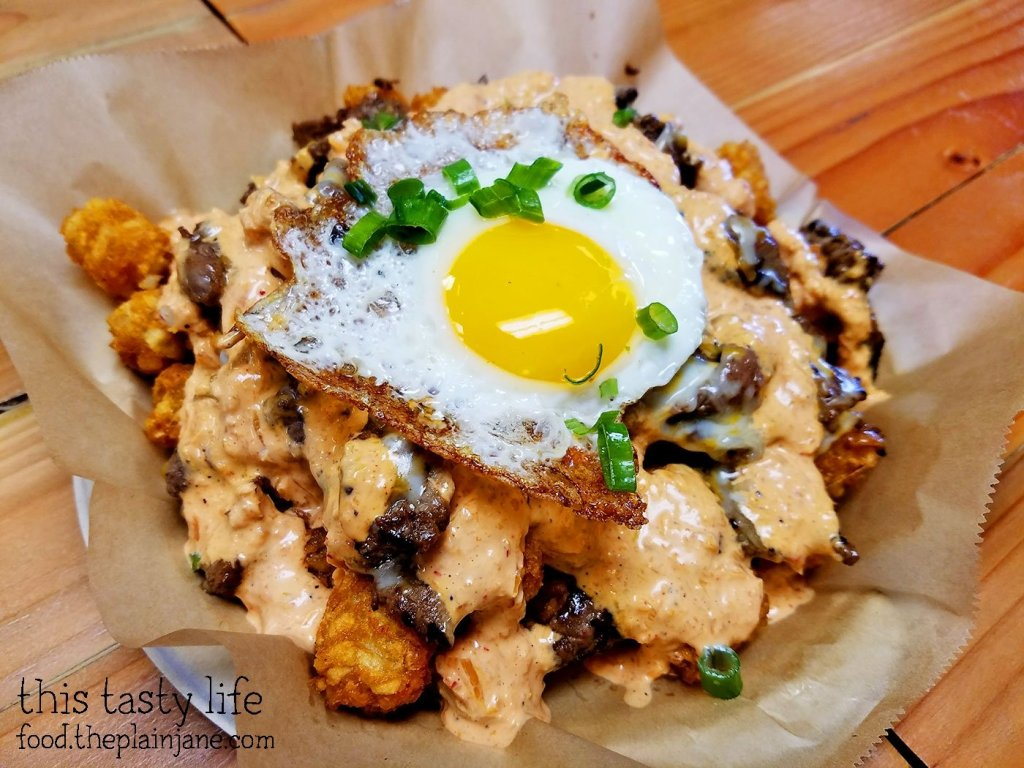 Bulgogi Tater Tots at Baguette Bros | San Diego, CA | This Tasty Life
