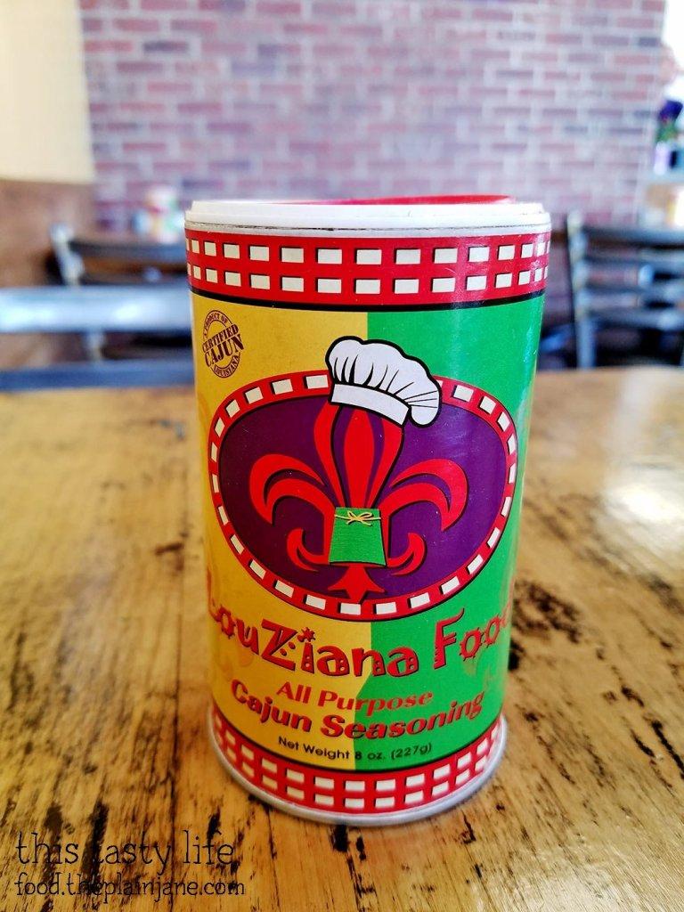Cajun Seasoning at LouZiana Food | San Diego, CA
