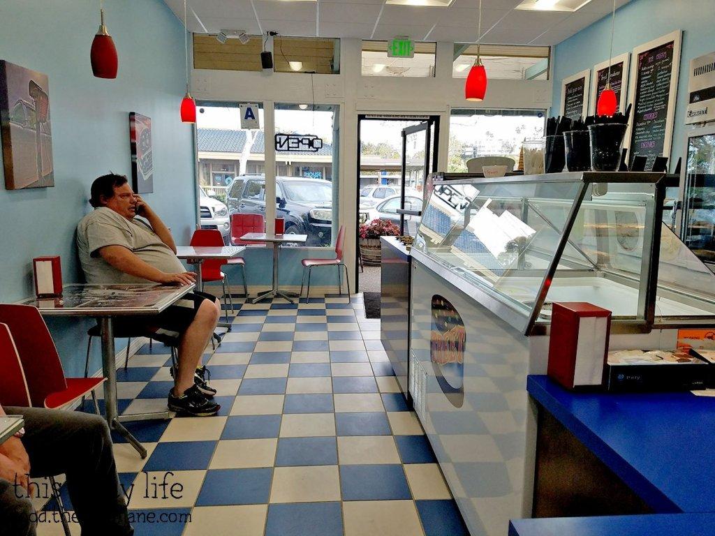 Interior at Treet Ice Cream Sandwiches   San Diego, CA   This Tasty Life