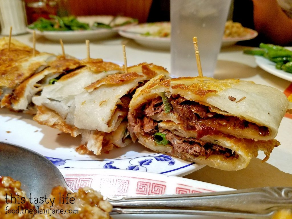 Beef Roll at Peking Restaurant | Westminster, CA