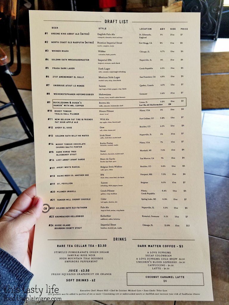 Draft List at Dusek's - Chicago, IL