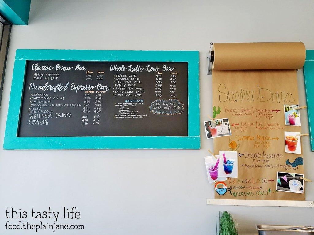 Coffee Menu at S3 Coffee Bar - San Diego, CA