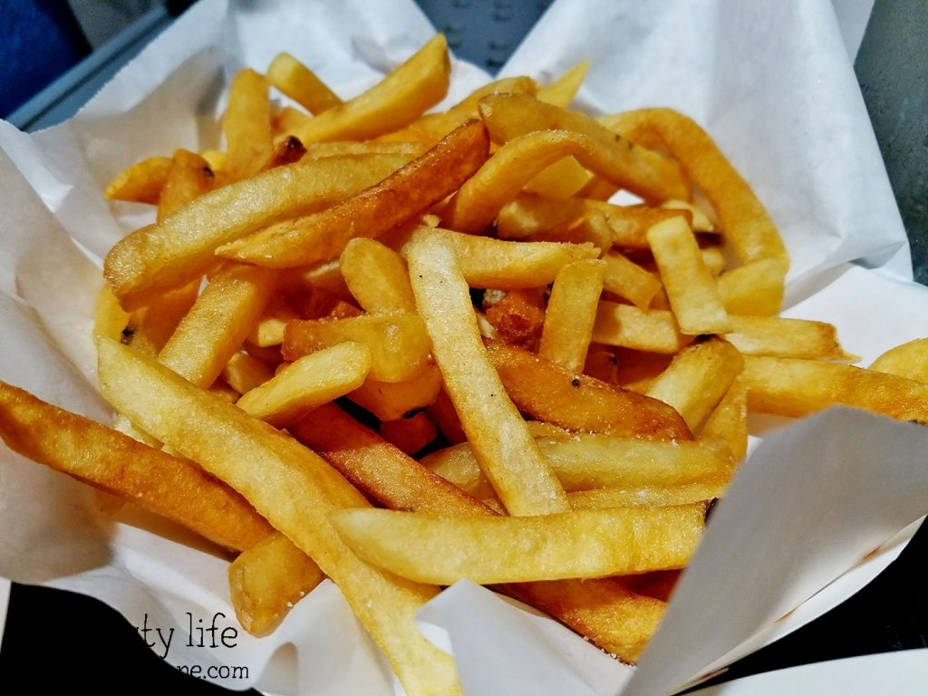 French Fries at Mister Fish and Chips in San Diego, CA