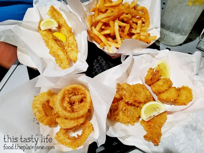 Dinner at Mister Fish and Chips in San Diego, CA