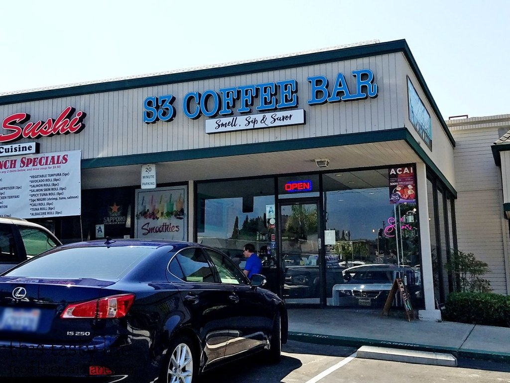 S3 Coffee Bar - San Diego, CA