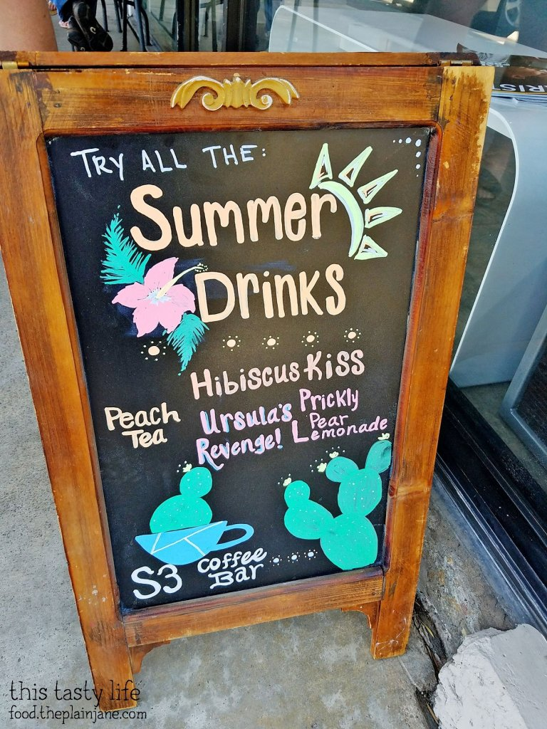 Summer Drinks at S3 Coffee Bar - San Diego, CA
