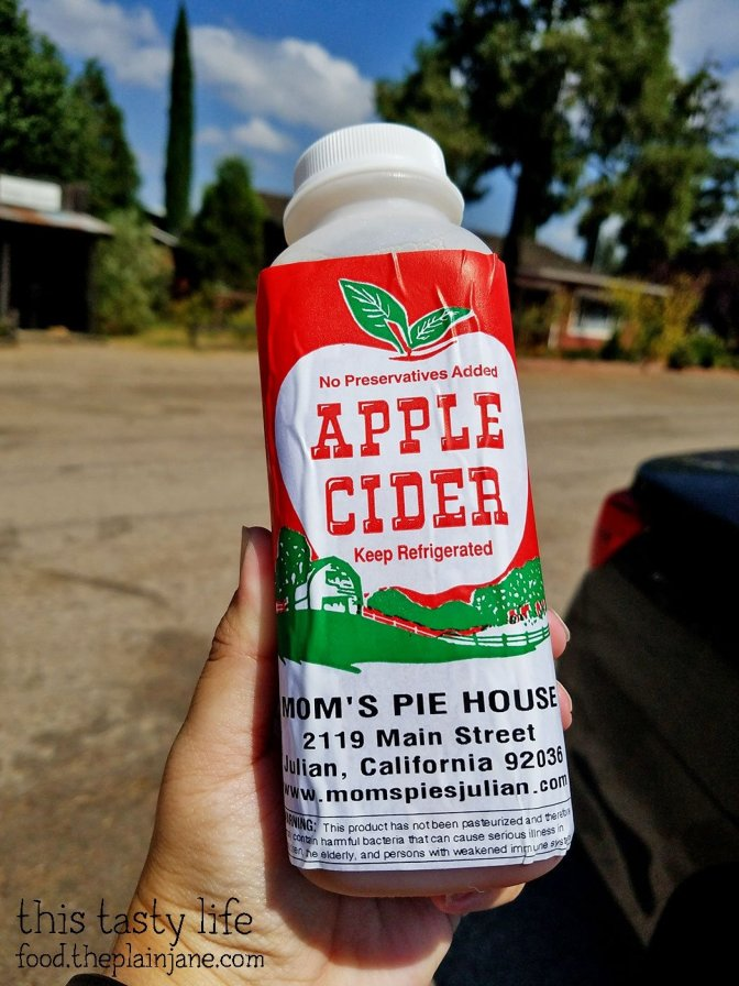 Apple Cider from Mom's Pie House - Julian, CA