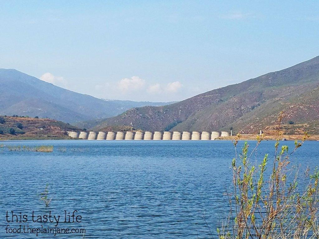 Sutherland Dam at Lake Sutherland - Ramona, CA