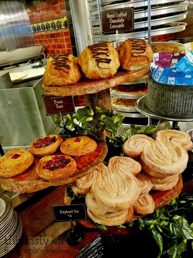 Pastries at Clifton's - Los Angeles, CA