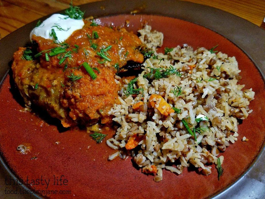Cabbage Rolls - Kafe Sobaka Restoran Pomegranate - San Diego, CA