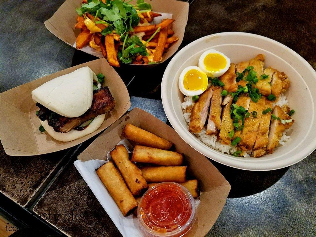 Food at Oi Asian Fusion - San Diego, CA