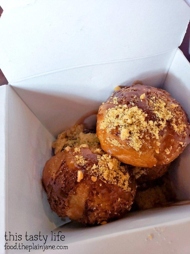 Matcha Profiteroles - Chef Driven Bake Sale - San Diego, CA