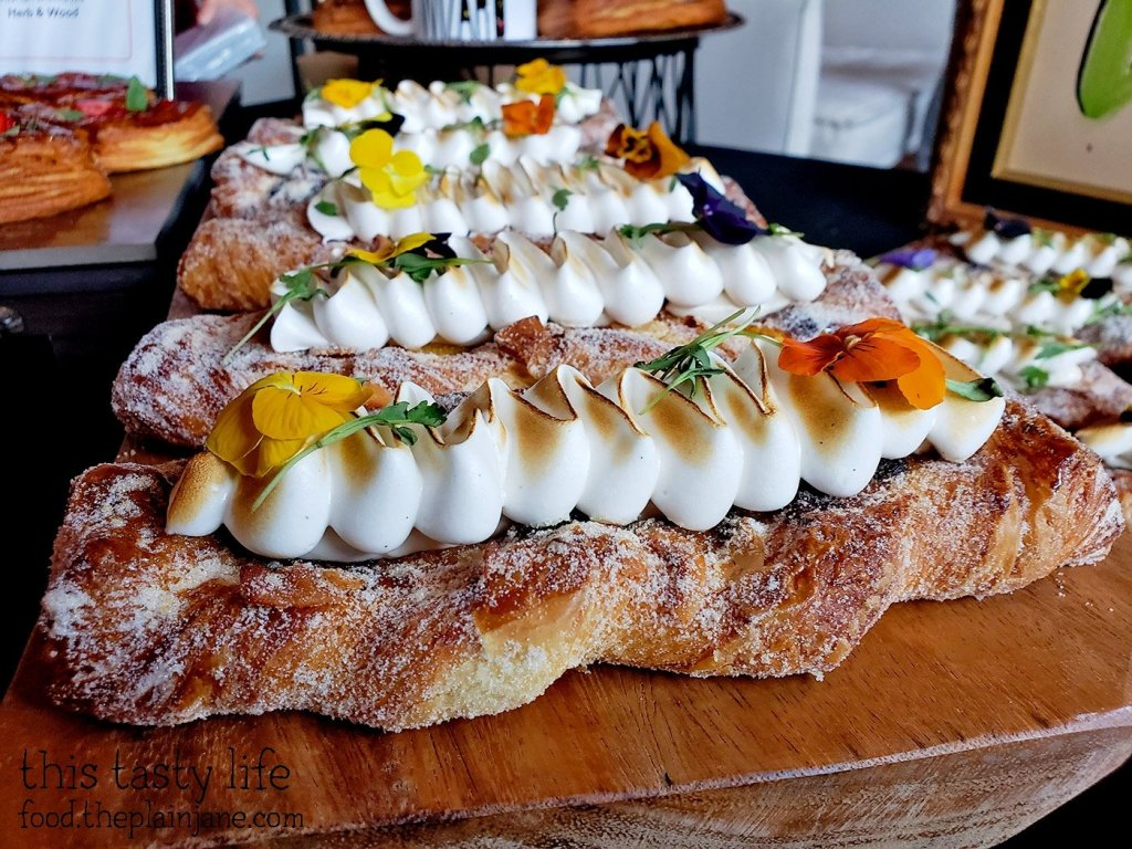 Passion Fruit Smoked Coconut Meringue Danish at Chef Driven Bake Sale - San Diego, CA