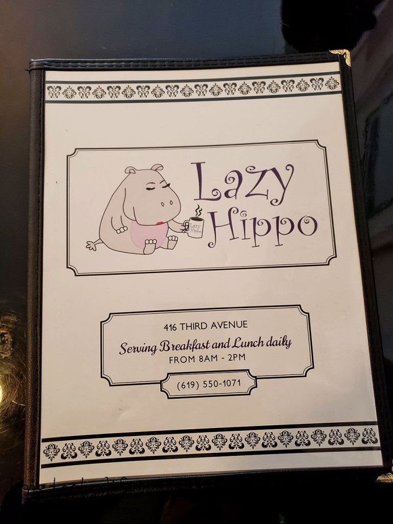 The Lazy Hippo - San Diego, CA