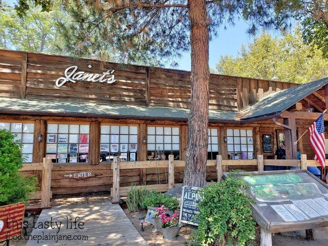 Janet's Montana Cafe - Alpine, CA